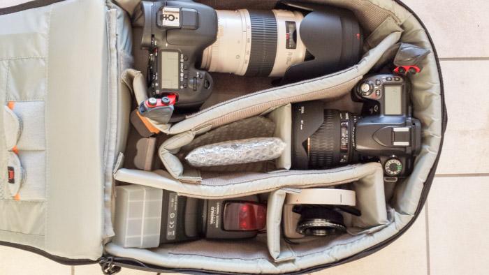La mia attrezzatura fotografica