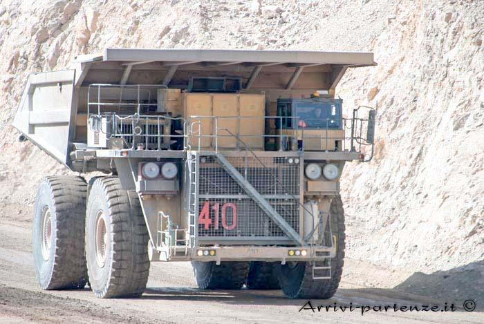 cat-797b presso la miniera di Chuquicamata, Cile