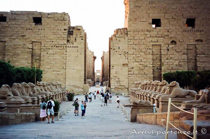 Il tempio di Luxor e Karnak