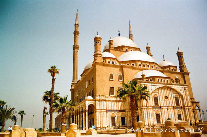 La cittadella al Cairo, Egitto