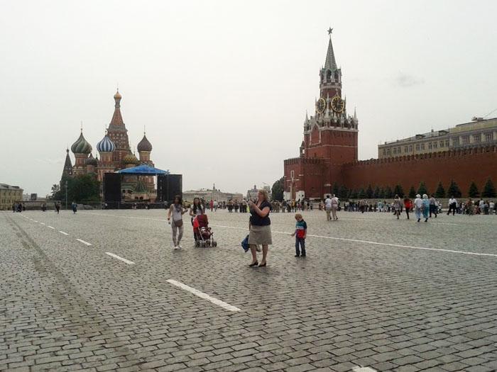 Diario di viaggio di Mosca