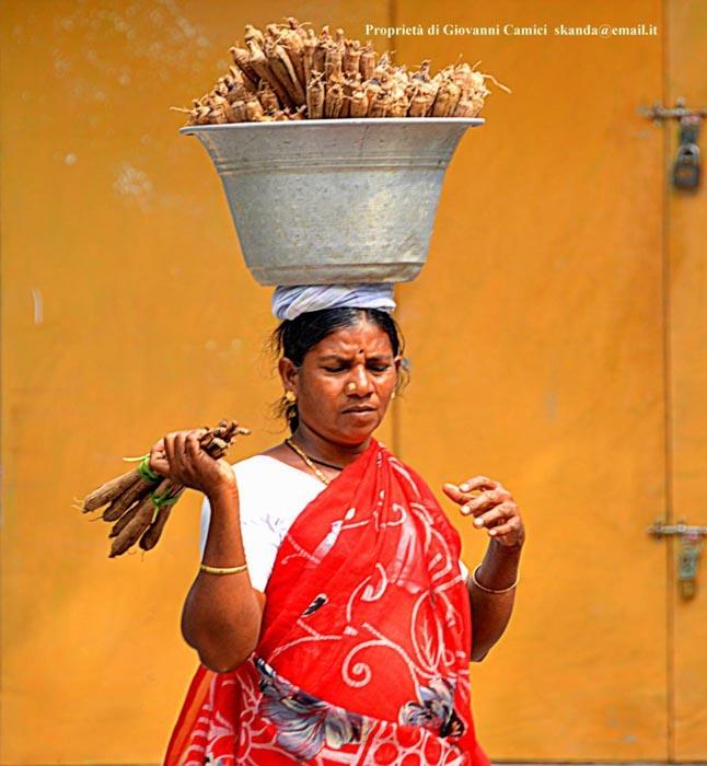 Venditrice, Mamallapuram