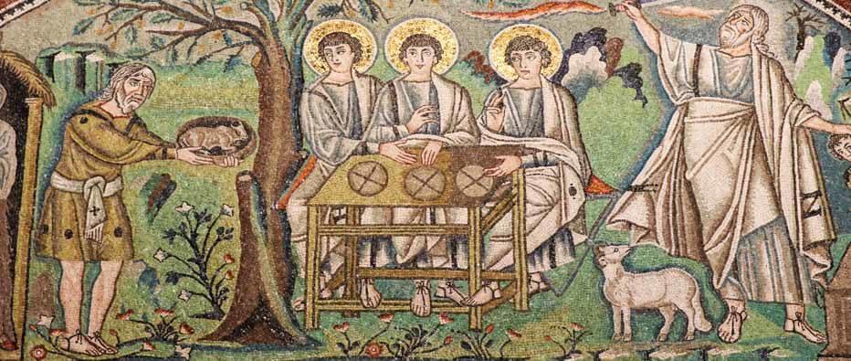 Mosaico nella Chiesa di San Vitale, Ravenna