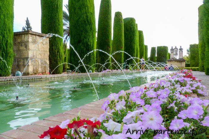 Alcázar de los Reyes Cristianos di Cordova in Andalusia, Spagna (2)