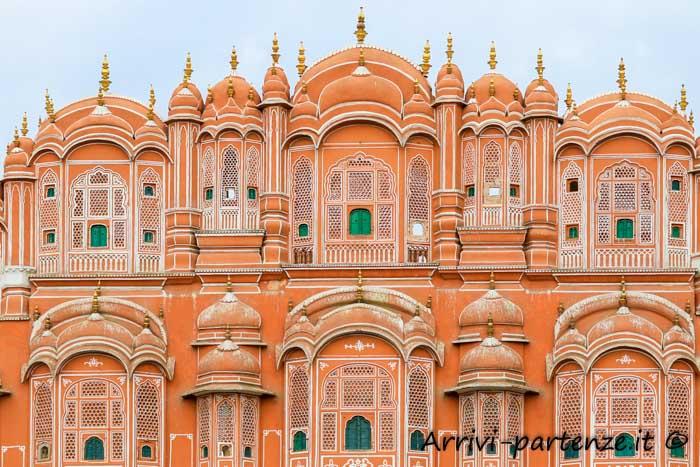 Cosa vedere a Jaipur: Hawa Mahal