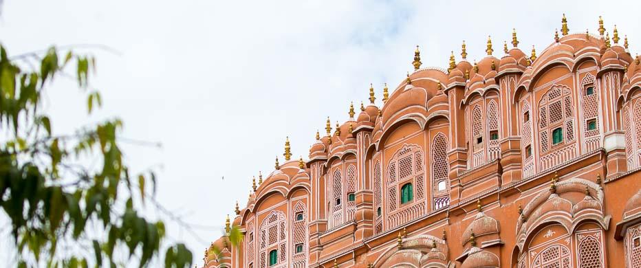 Il Palazzo dei Venti a Jaipur, India