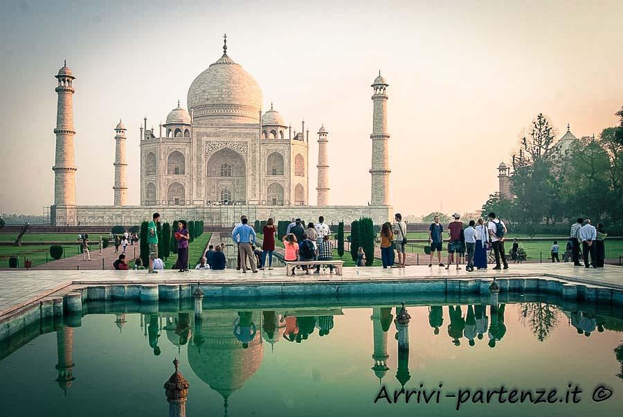 Taj Mahal ad Agra, in India