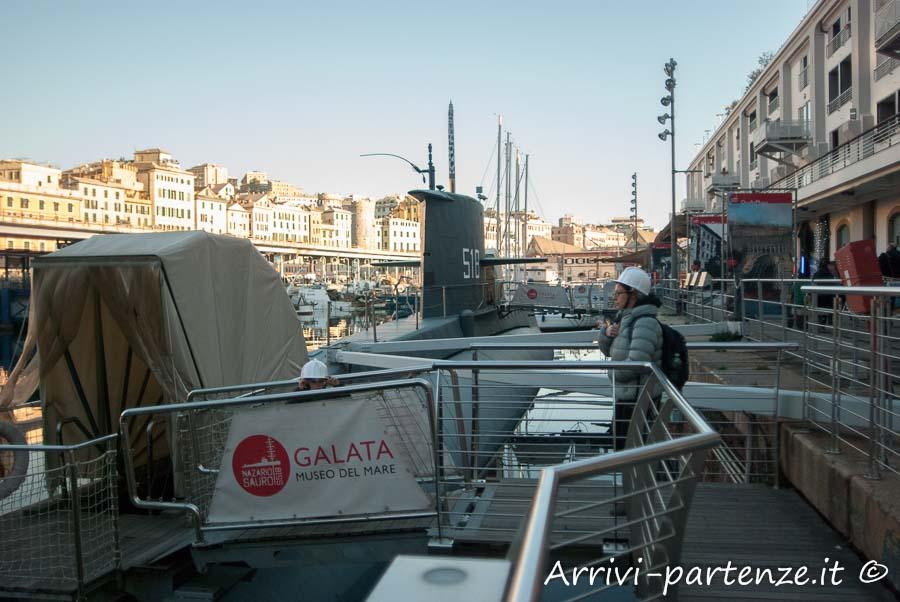 Galata, Museo del Mare