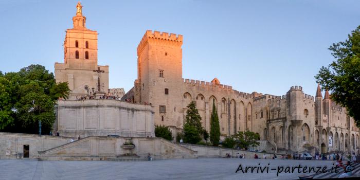 Centro storico di Avignone in Provenza, Francia