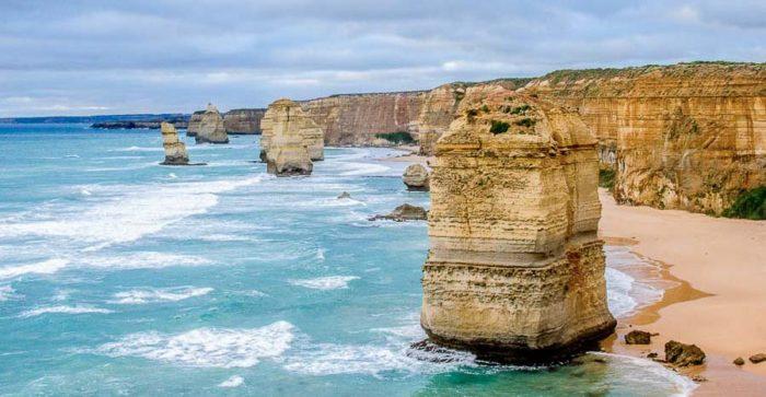 I 12 Apostoli, costa sud-orientale - Australia