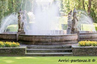 Fontana all'interno del Giardino botanico di Villa Taranto, Verbania