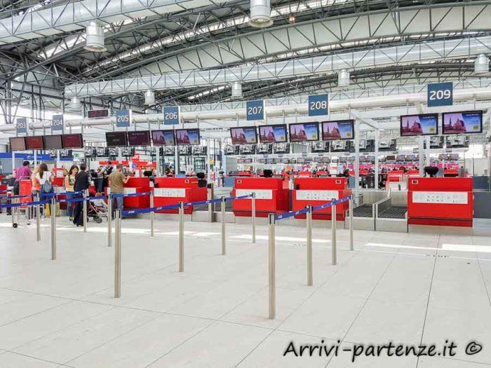 Check-in all'aeroporto