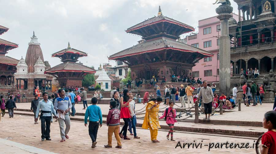Durban Square a Patan, Nepal