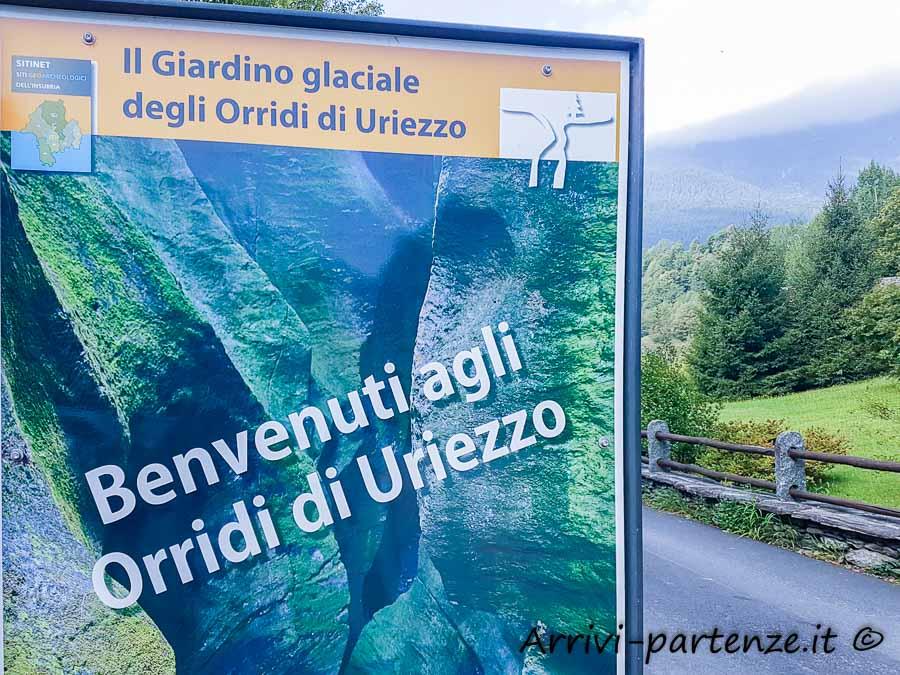 Ingresso agli Orridi di Uriezzo, Piemonte