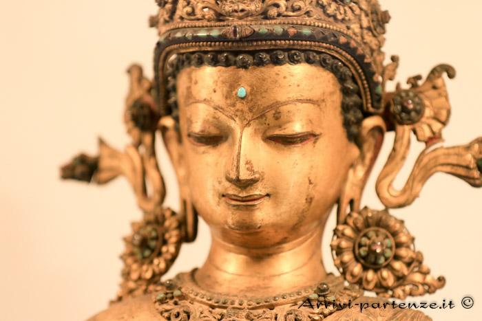 Statua presso il Museo di Patan, Nepal