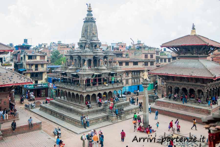 Templi in Durban Square a Patan, Nepal