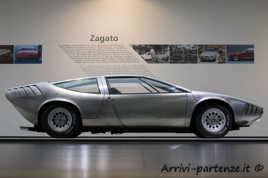 Alfa Iguana al Museo dell'Alfa Romeo, Arese
