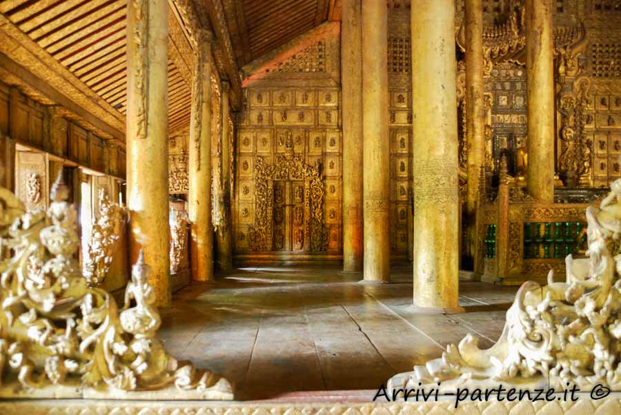 Swenandaw Kyaungpagoda a Mandalay, Myanmar