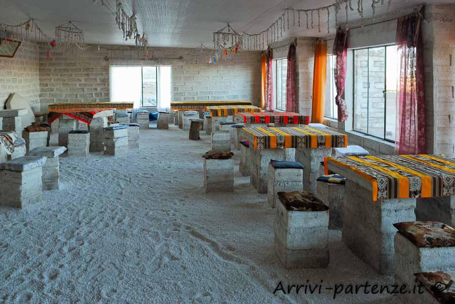 Hotel di Sale nel Salar de Uyuni, Bolivia
