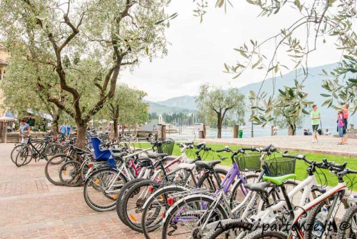 Biciclette a Riva del garda