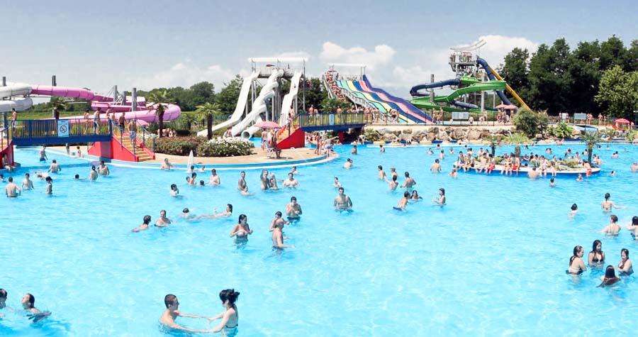 Parco acquatico Ondaland, Vicolungo