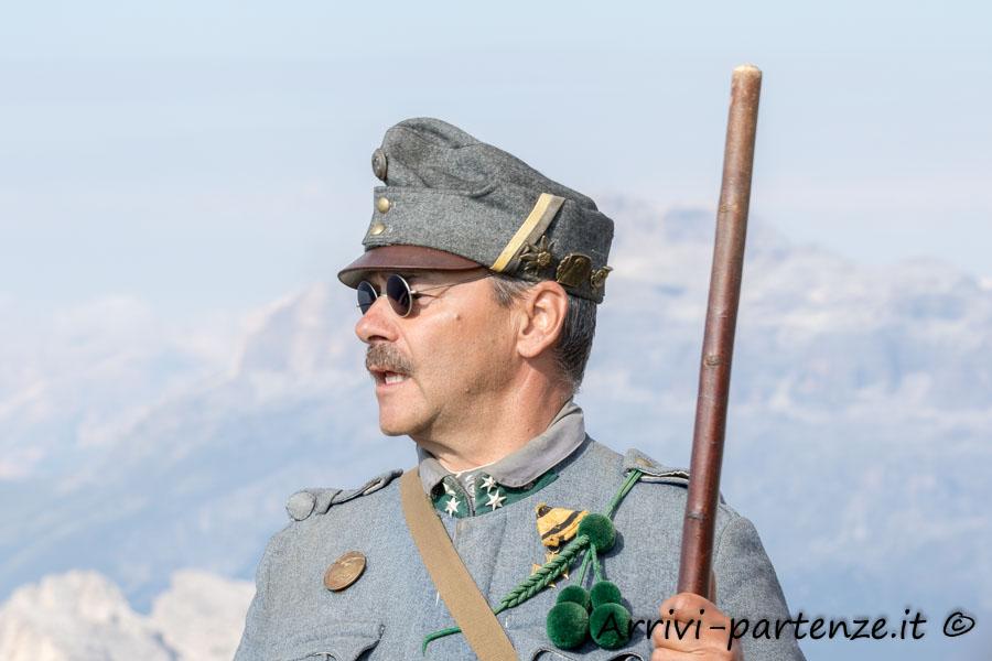 Franz Pozzi Brunner sul Lagazuoi, Veneto
