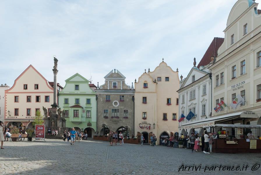 Centro storico di Cesky Krumlov in Repubblica Ceca