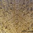 Decorazioni all'interno dell'Alhambra di Granada in Andalusia, Spagna