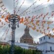 Festoni a Carmona in Andalusia, Spagna