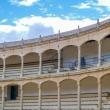 Interni della Plaza de Toros di Ronda in Andalusia, Spagna