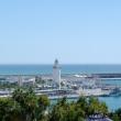 Porto di Malaga in Andalusia, Spagna