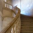 Scalinata all'Alhambra Circular Arena di Granada in Andalusia, Spagna