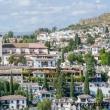 Vista dall'alto di Granada in Andalusia, Spagna