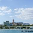 Vista di Malaga in Andalusia, Spagna