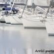 Barche presso il molo di Marina di Ravenna