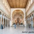 Interno della Basilica di Sant'Apollinare Nuovo, Ravenna