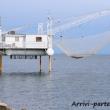 Reti per la pesca, Marina di Ravenna