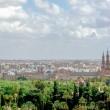 Vista dall'alto di Siviglia in Andalusia, Spagna