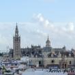 Vista della Cattedrale di Siviglia in Andalusia, Spagna