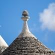Particolare dei trulli ad Alberobello, Puglia