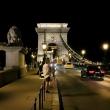 Ponte delle Catene di notte a Budapest, Ungheria