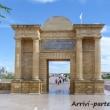Porta romana di Cordova in Andalusia, Spagna