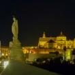 Vista serale di Cordova in Andalusia, Spagna