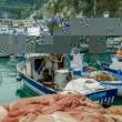 Barca da pesca a Cetara