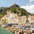 Presso il porto, Amalfi