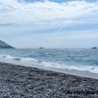 Sulla spiaggia di Positano