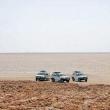 Fuoristrada presso il Lago Assa Ale, Etiopia