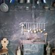 Antica cucina presso il Museo di Messner, Brunico