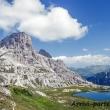 Panorama presso il Rifugio Locatelli,Tre cime di Lavaredo, Veneto