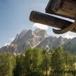 Vista delle Dolomiti di Sesto presso Prato Piazza, Val Pusteria